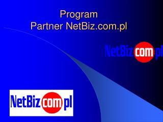 Program  Partner NetBiz.pl