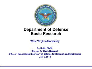Department of Defense Basic Research
