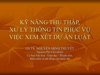 K NANG THU THP,  X L  TH NG TIN PHC V  VIC XEM X T D  N LUT