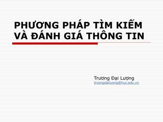 PHUONG PH P T M KIM V    NH GI  TH NG TIN