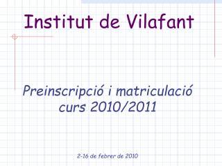 Institut de Vilafant