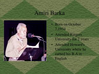 Amiri Barka