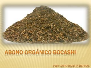 ABONO ORG�NICO BOCAsHI