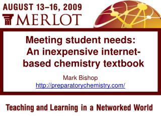 Mark Bishop preparatorychemistry/