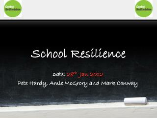 School Resilience