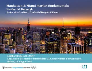Company Overview & Marketing Capabilities Presentation
