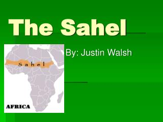 The Sahel
