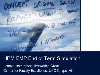 HPM EMP End of Term Simulation
