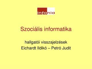 Szociális informatika