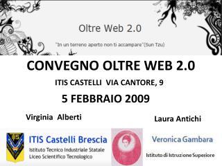 CONVEGNO OLTRE WEB 2.0