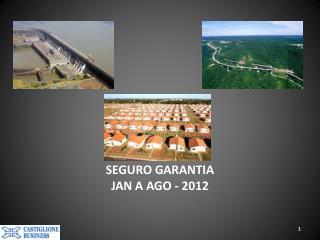 SEGURO GARANTIA JAN A AGO - 2012