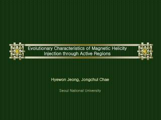 Evolutionary Characteristics of Magnetic Helicity Injection through Active Regions