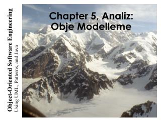 Chapter 5, Analiz: Obje Modelleme