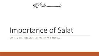 Importance of Salat