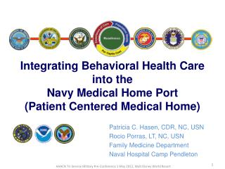 Patricia C. Hasen, CDR, NC, USN Rocio Porras, LT, NC, USN Family Medicine Department