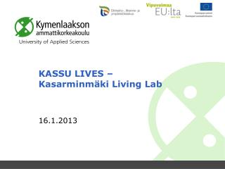 KASSU LIVES –  Kasarminmäki Living Lab
