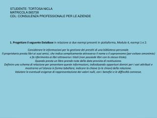 STUDENTE: TORTOSA NICLA