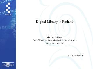Digital Library in Finland