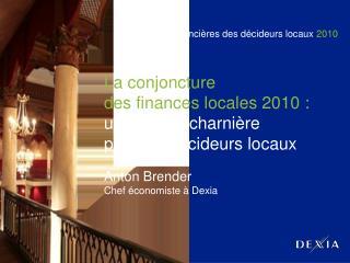 Rencontres financières des décideurs locaux  2010