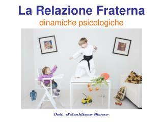 La Relazione Fraterna dinamiche psicologiche