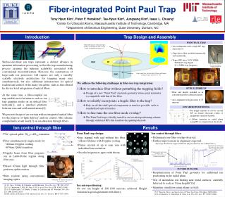 Fiber-integrated  Point Paul Trap