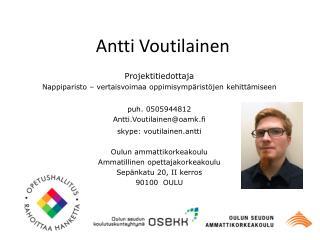 Antti Voutilainen