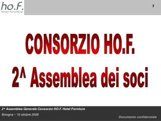 CONSORZIO HO.F. 2^ Assemblea dei soci