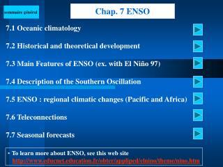 Chap. 7 ENSO