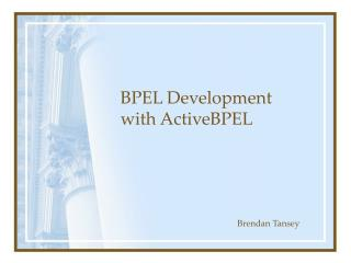 BPEL Development with ActiveBPEL