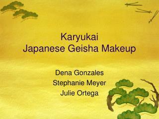Karyukai Japanese Geisha Makeup