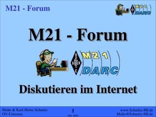 M21 - Forum