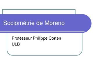 Sociométrie de Moreno
