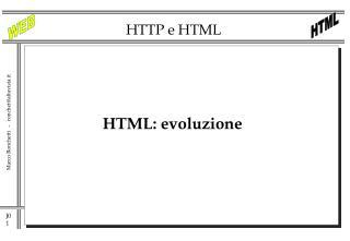 HTTP e HTML