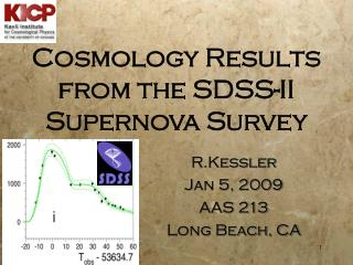 Cosmology Results from the SDSS-II Supernova Survey