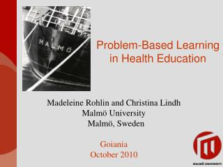 Problem-Based Learning  in Health Education