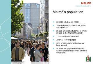 Malm��s population