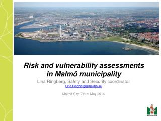 Risk and vulnerability assessments in Malmö municipality