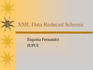 XML Data Reduced Schema