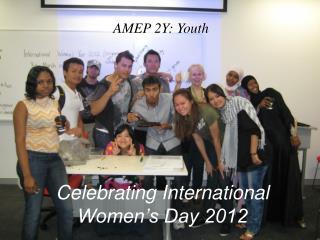 Celebrating International Women's Day 2012