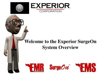 Welcome to the Experior SurgeOn System Overview
