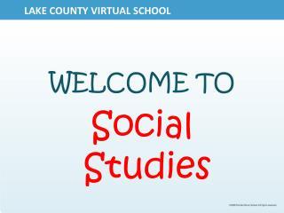LAKE COUNTY VIRTUAL SCHOOL