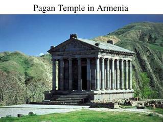 Pagan Temple in Armenia