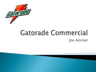 Gatorade Commercial