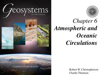 Chapter 6 Atmospheric and Oceanic Circulations