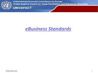 eBusiness Standards
