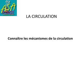 LA CIRCULATION