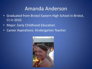 Amanda Anderson