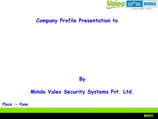 Company Profile Presentation to