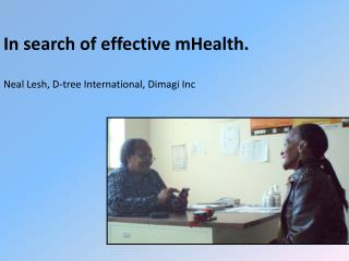 In search of effective mHealth.