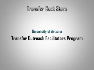 Transfer Rock Stars